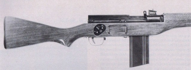 Early T28 rifle, s/n 4