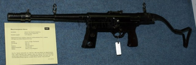 Halcon SMG in 9mm