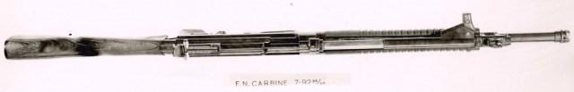 8mm Kurz FAL prototype, top view