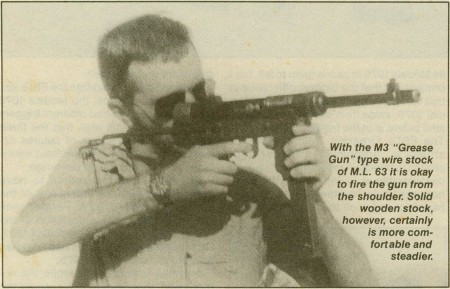 Author shooting a Halcon ML63