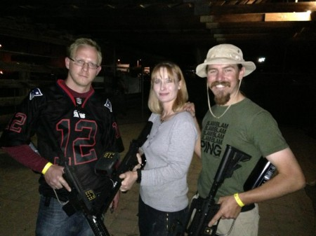 With friends at Apocalypse: A Zombie Kill Event