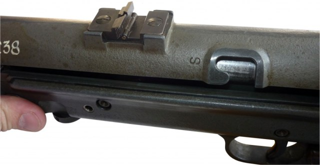 MP38(L) rear sight