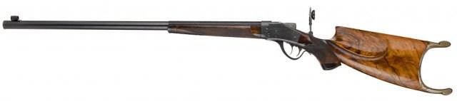 Sharps-Borchardt Schuetzen rifle