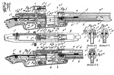 Clausius 1895 patent drawings