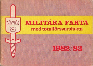 Militara Fakta 1982-83 (Swedish)