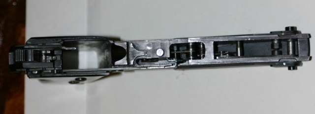 Henk Visser's full-auto cz52, with slide removed