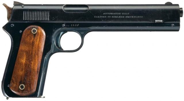 """Colt 1900 """"Sight Safety"""" Pistol"""