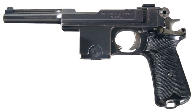 Danish-made Bergmann M1910/21 with Trolit grips