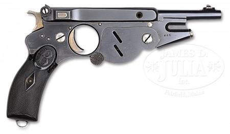Bergmann No.2 pistol, s/n 661