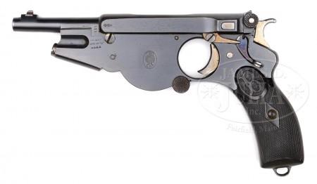 Bergmann No.2 pistol, s/n 661.