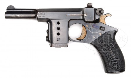 Mid-production Bergmann Simplex pistol