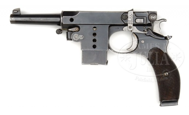 Bergmann No.5 1897 pistol