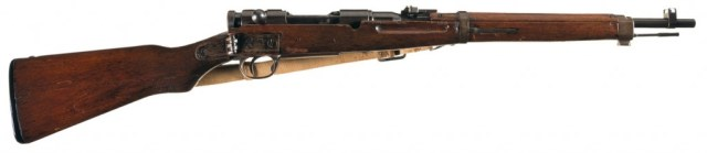Japanese Type 1 Paratrooper rifle