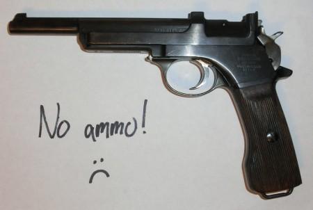 Steyr Model 1905 - no ammo!