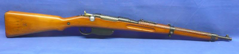 Steyr M95 carbine with fake German markings