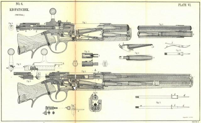 Kropatschek cutaway diagram