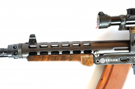 Vahan rifle front end