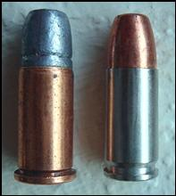 .38 S&W and 9x19 cartridges