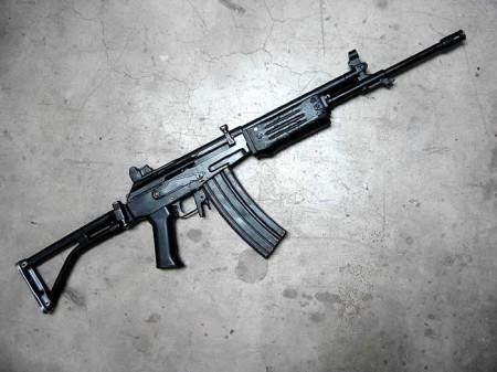 Guatemalan KEL rifle (Galil AR copy)