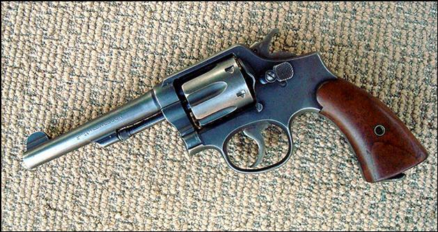 .38 S&W Victory Model revolver