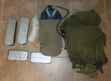 GoRuck light pack contents