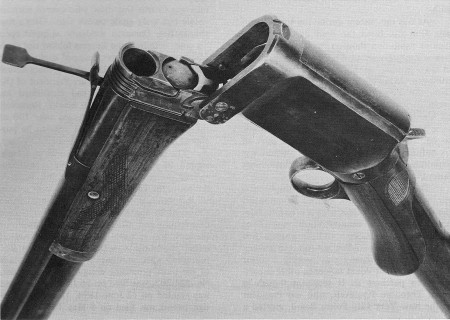 Burgess folding shotgun latch and hinge