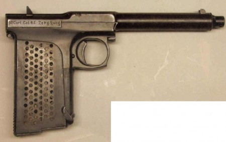 Sunngard automatic pistol, 6.5mm
