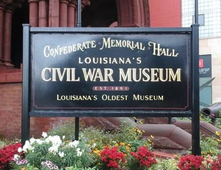Confederate Memorial Hall Civil War Museum, New Orleans