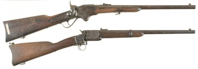 Spencer and Triplett & Scott carbines