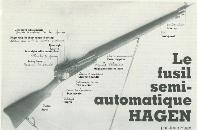 Hagen rifle photo with captions