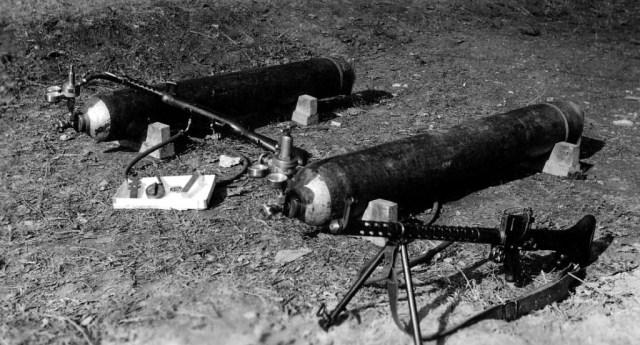 MG30 & gas tanks
