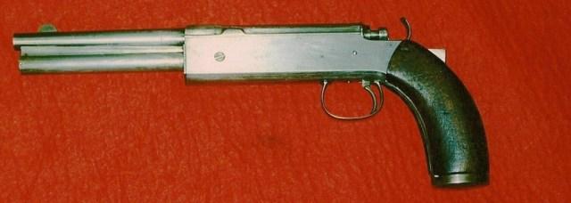 Swanström 1882 Automatic Pistol