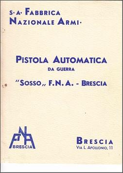 M1942 Sosso pistol manual (Italian)