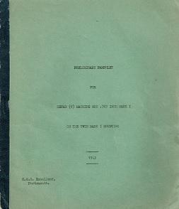 Hefah V Machine Gun Preliminary Manual (English, 1943)