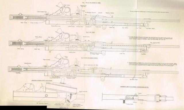 Hefah .303 machine gun cutaway