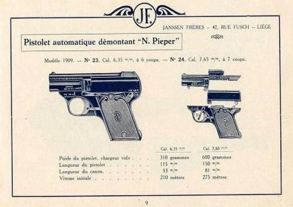 Pieper 1909 pistol