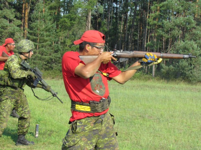 The Lee Enfield Finally Leaves Canadian Ranger Service
