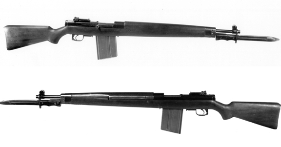 Prototype Canadian SLR in 8mm, 1944