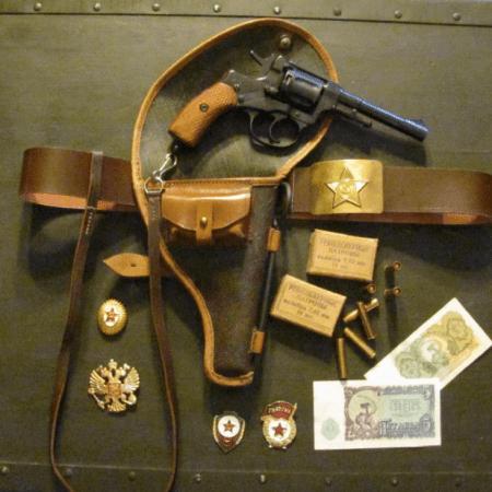 1895 Nagant revolver
