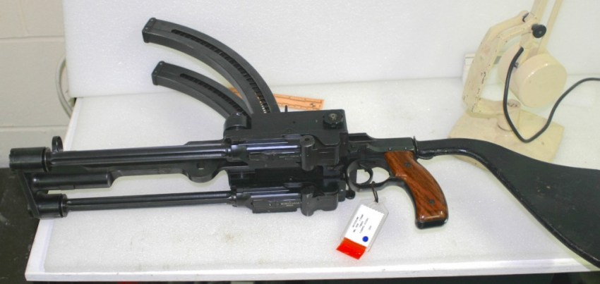 Furrer M1919 double barrel subgun