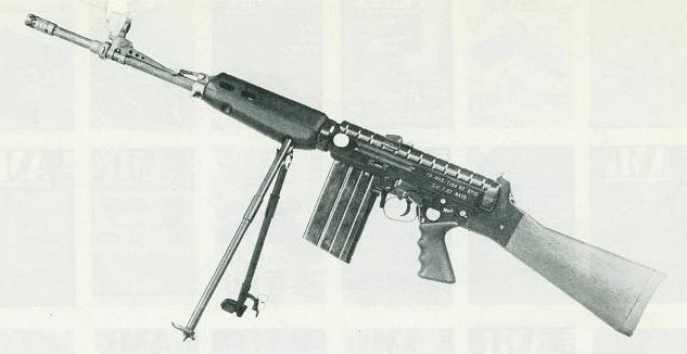 French MAS 62 trials rifle