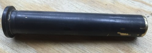 Drum axis rod