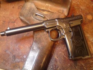 Sunngard automatic pistol