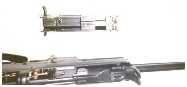 Horn rifle bolt