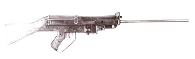 Russian trials Horn rifle (right side)