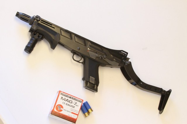 MAG-7 shotgun