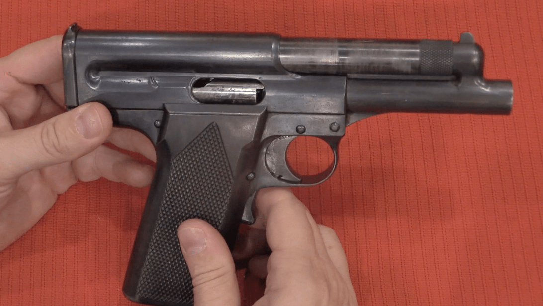 Lewis Gas Operated Pistol (Video) – Forgotten Weapons