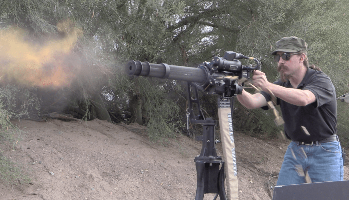 M134 Minigun : The Modern Gatling Gun