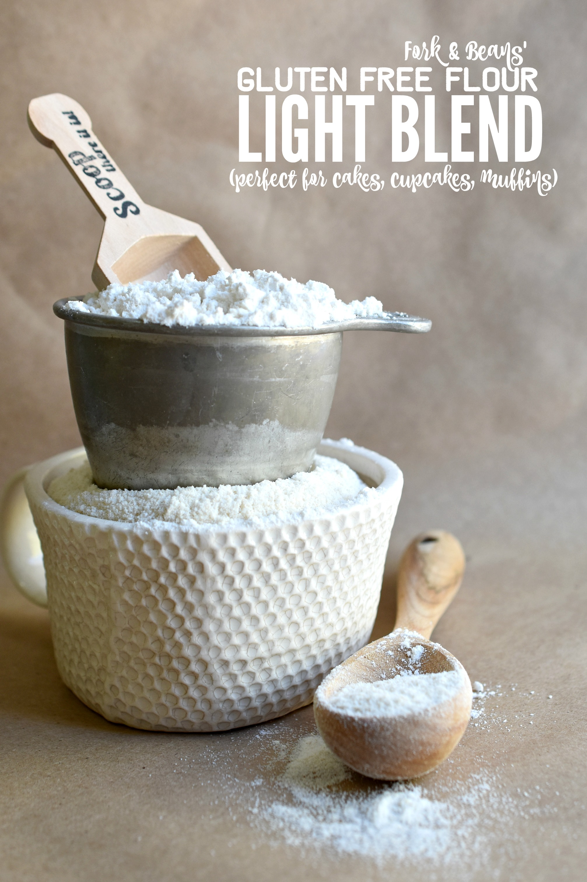 Gluten Free Flour Blend For Cakes Fork And Beans