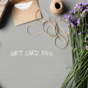 GIVE A SHEET GIFT CARD  – R500